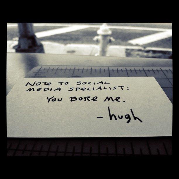 Hugh's Amazing Work